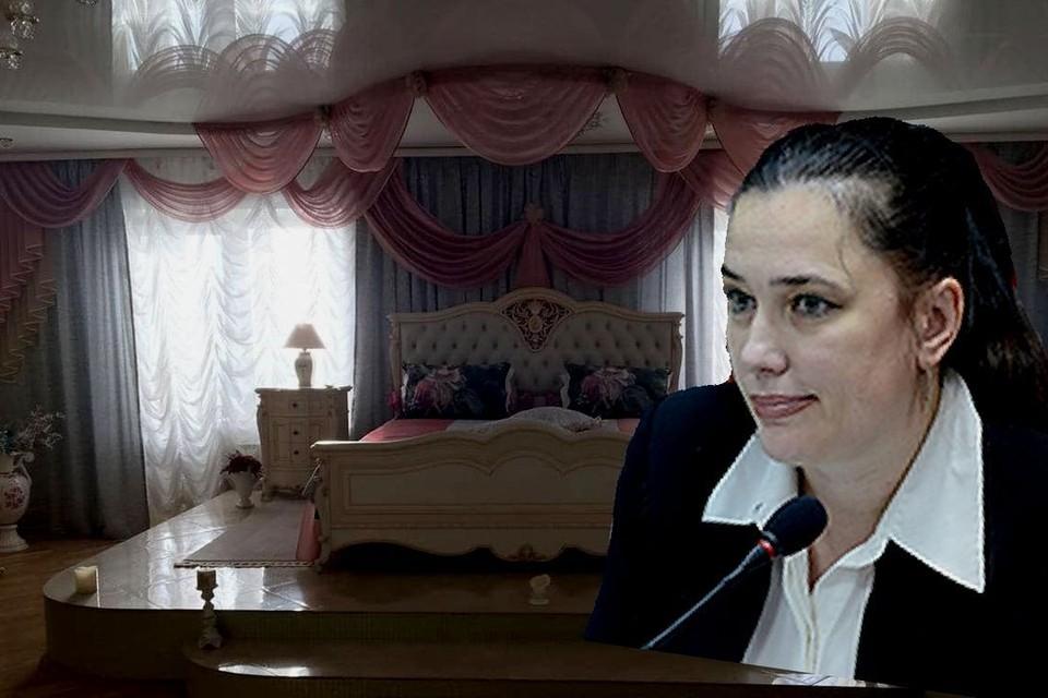 """Новосибирская чиновница жила в настоящем дворце. Фото: Андрей ГРЕБНЕВ\Архив """"КП"""""""