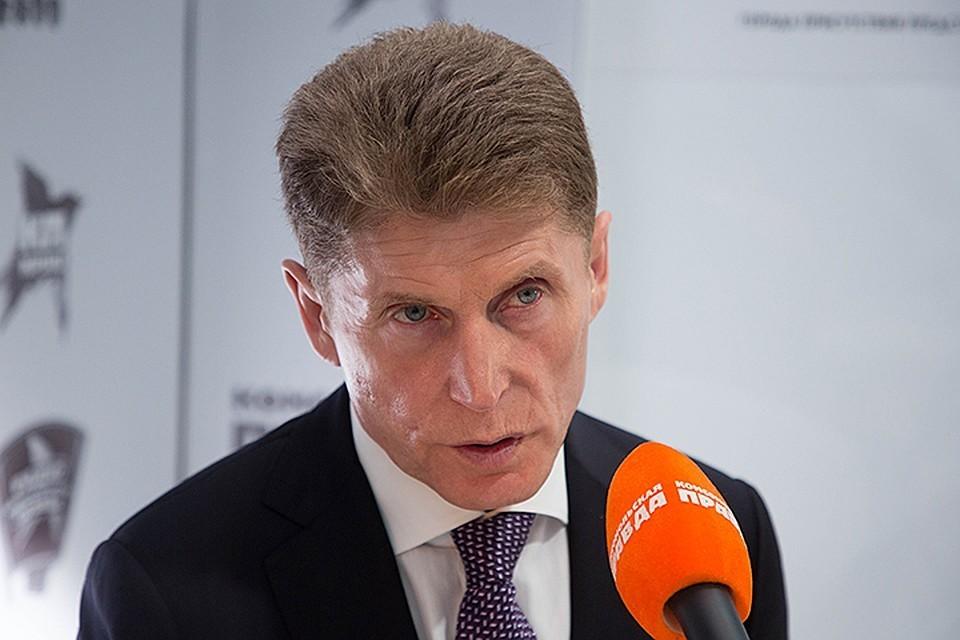 Губернатор Приморья Олег Кожемяко