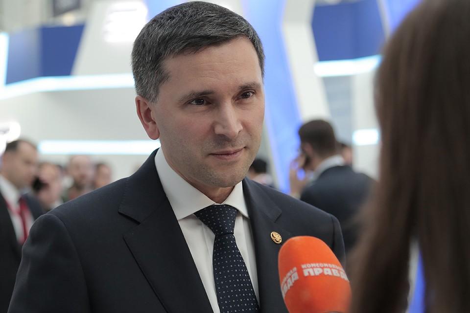 Министр природных ресурсов и экологии Российской Федерации Дмитрий Кобылкин.