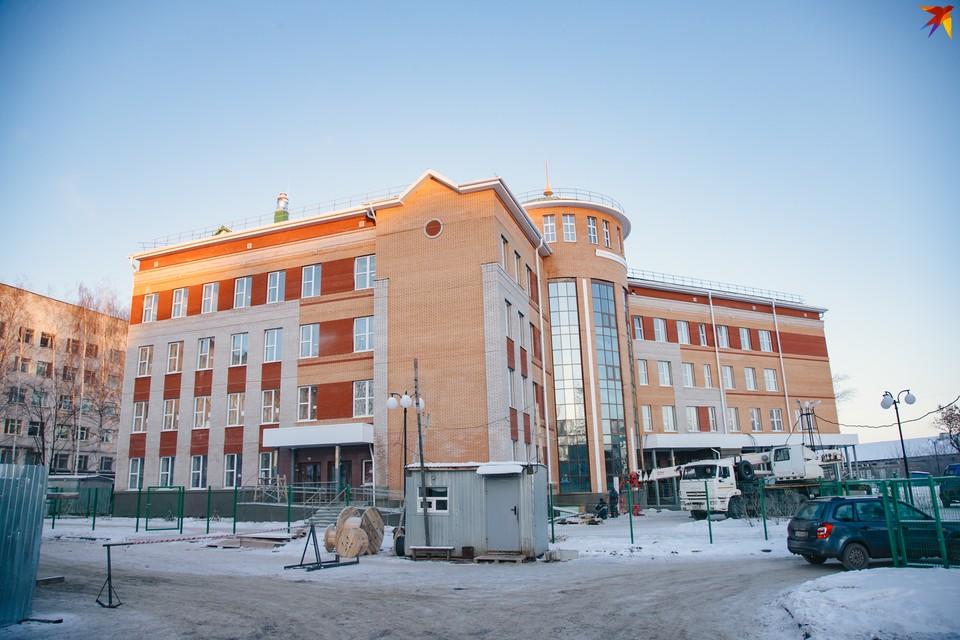 Новое здание ГКБ №4