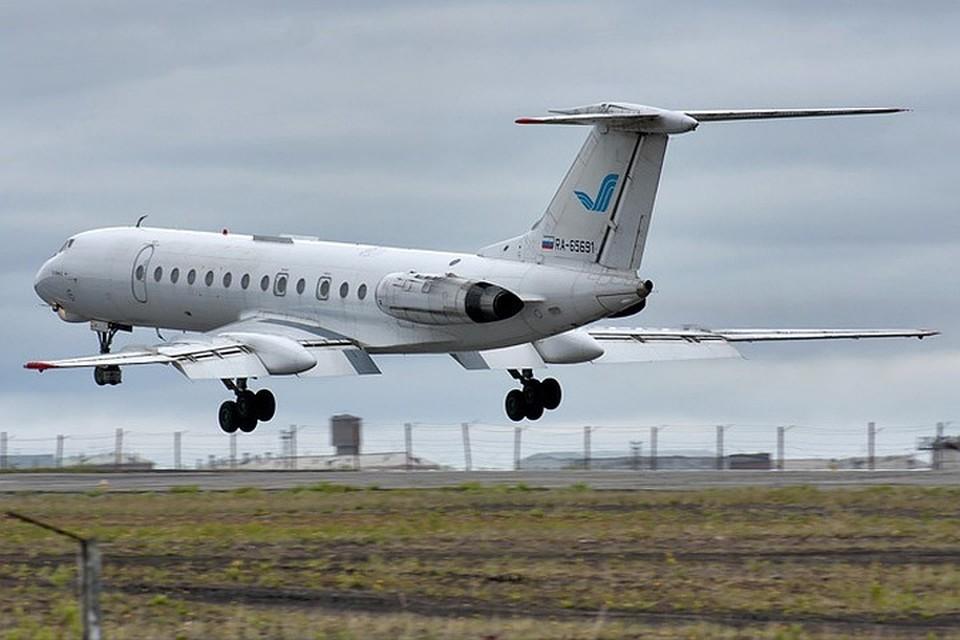 Это тот самый Ту-134, который потерпел крушение при заходе на посадку в Петрозаводске. Фото: Alexey Reznichenko\RussianPlanes.net