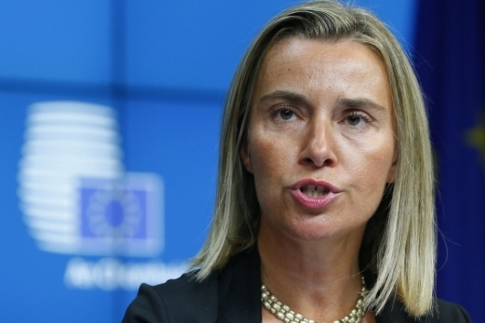 Глава дипломатии ЕС Федерика Могерини