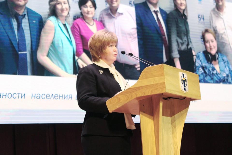 Галина Гриднева, председатель Общественной палаты региона, рассказала о взаимоотношениях власти и общества.