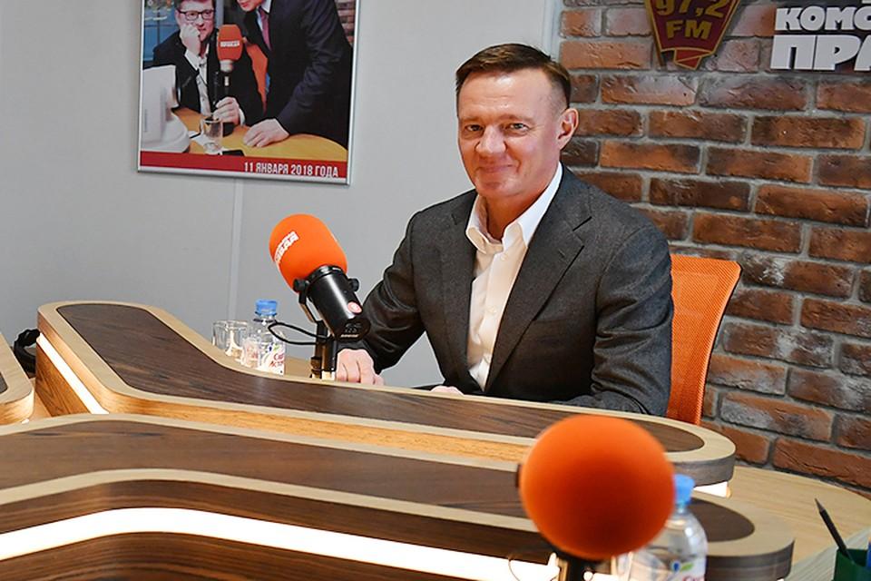 Исполняющий обязанности губернатора региона Роман Старовойт