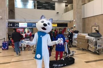 Более тысячи спортсменов улетают сегодня из аэропорта «Красноярск»