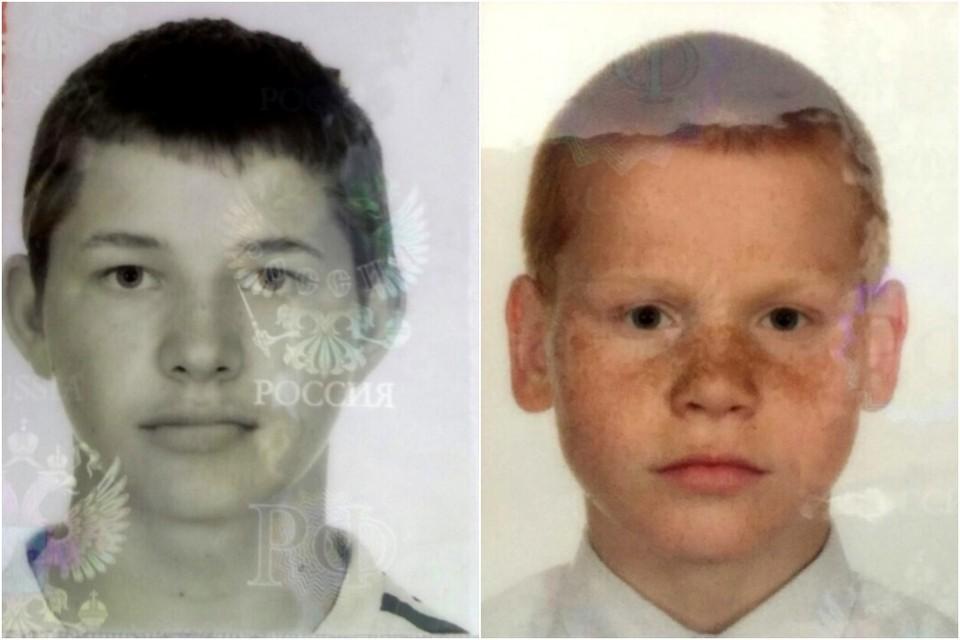 В Псковском районе пропали два школьника: Никита Букшанов и Максим Дмитриев.