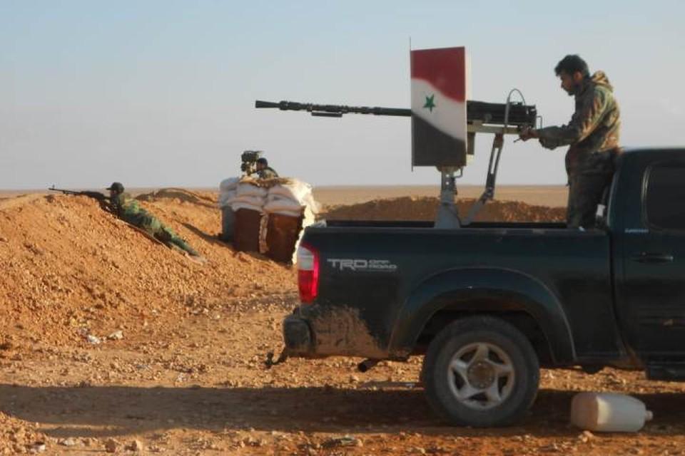 Подразделения Сирийской Арабской Армии продолжают поддерживать боевую выучку, приобретенную в ходе борьбы с боевиками террористических группировок