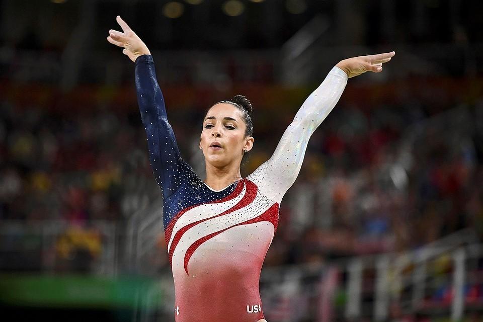 Американская гимнастка Александра Райсман