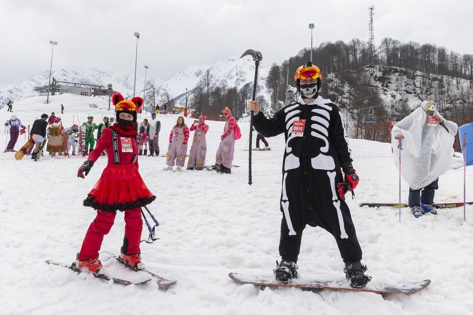 Высокогорный карнавал проходит уже четвертый год подряд