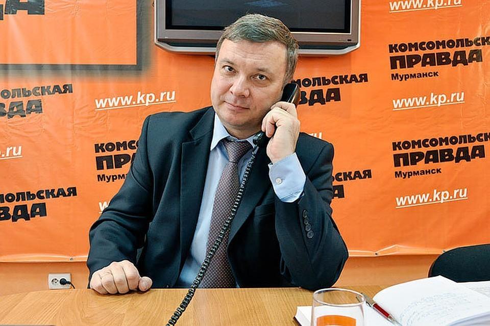 Валерий Перетрухин возглавил министерство здравоохранения Мурманской области в феврале 2013 года. Фото: Елена КОВАЛЕНКО