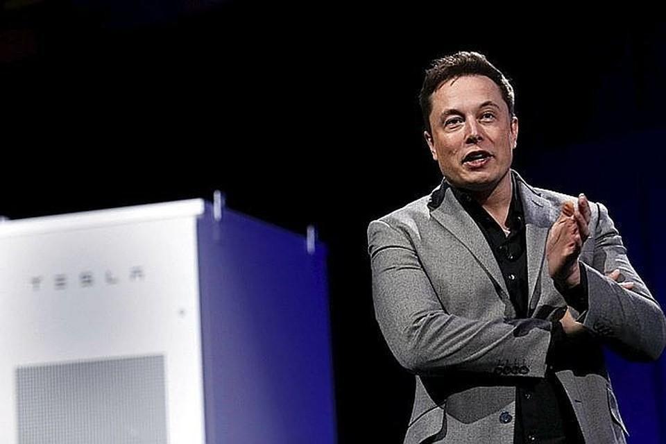 Глава и основатель компании Tesla Илон Маск