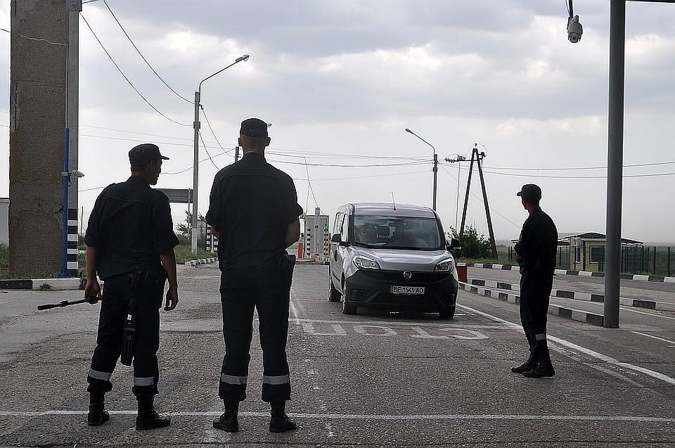 Пограничники работают в штатном режиме