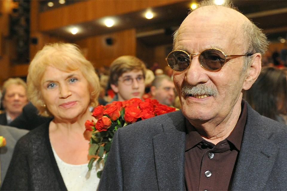 Георгий Данелия с супругой Галиной, 2013 год.