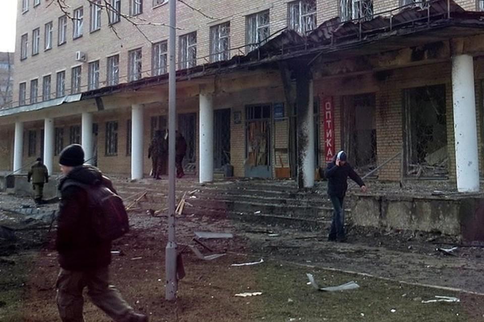 В столице Республики больницы неоднократно подвергались артударам ВСУ. Фото: kp.ua