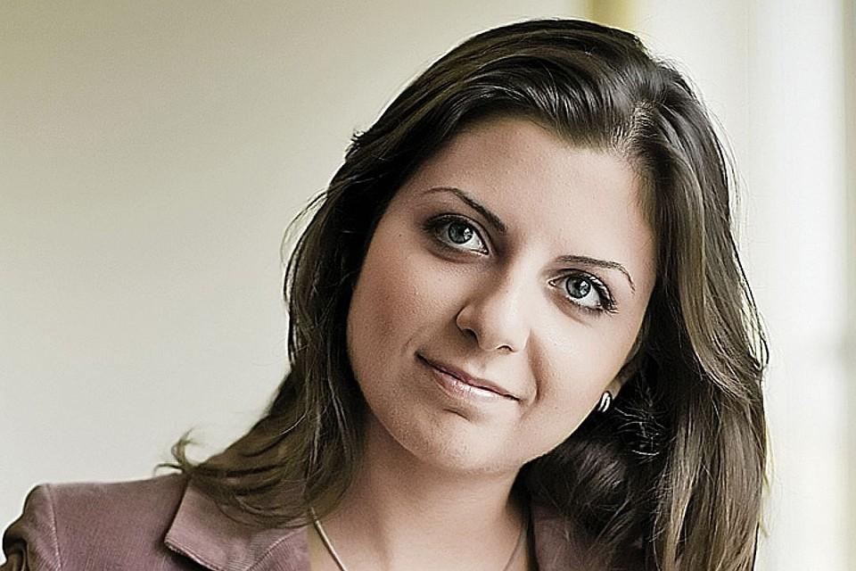 Главный редактор телеканала RT Маргарита Симоньян. Фото: Russia Today
