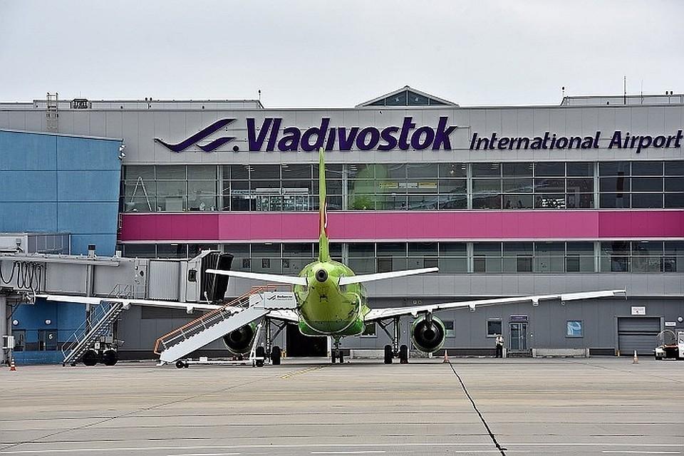 Из-за циклона сегодня смогли улететь не все самолеты в Приморье