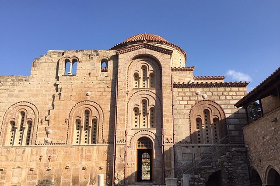 Византийский монастырь Дафни