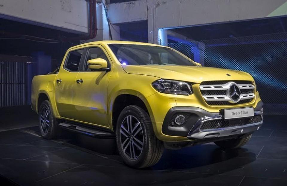 Mercedes отзывает из России автомобили X-Class