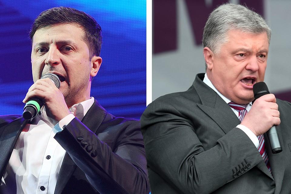 Дебаты Порошенко и Зеленского пройдут 19 апреля в 19-00.
