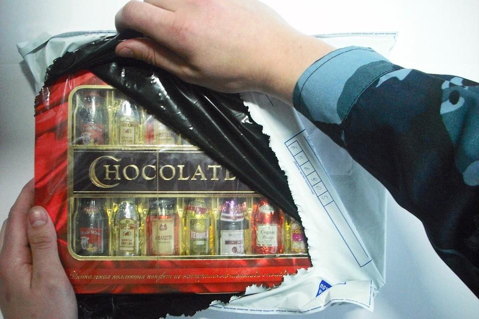 Конфеты с алкоголем