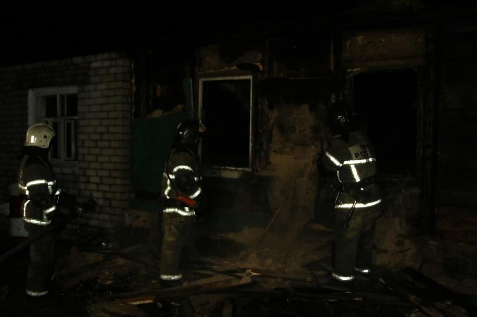 В огне погибли шесть человек
