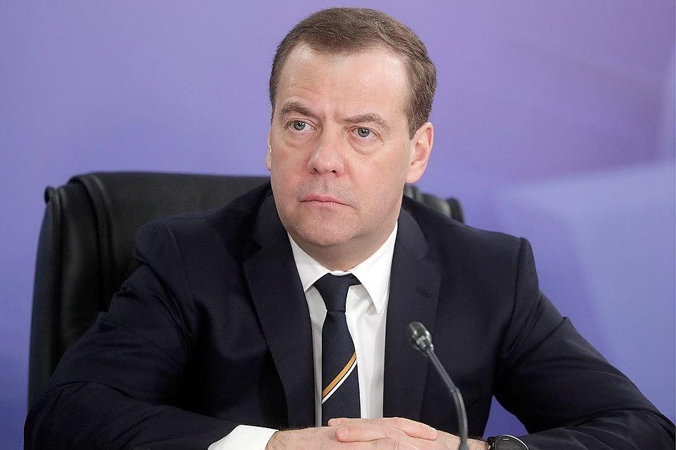 Премьер-министр Дмитрий Медведев. Фото Михаил Метцель/ТАСС