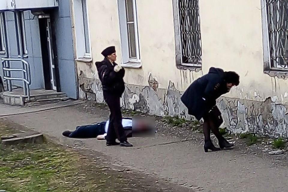 566b6854fdc 17-летнего студента застрелили в Новокузнецке  видео с места убийства