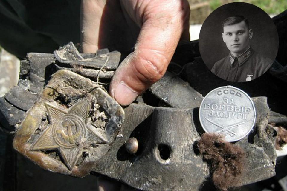 Внутри боевой машины нашли останки пилота, сохранившуюся кожаную куртку летчика и подвесную сумку. Фото: vk.com/neunivaki