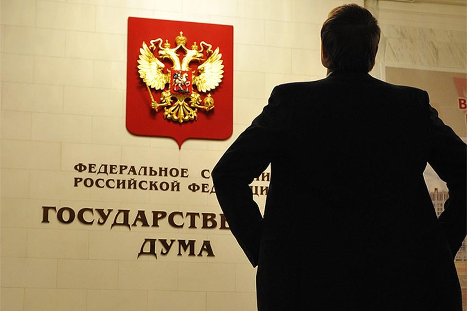 Законопроект зарегистрирован в базе данных и направлен Председателю Госдумы.