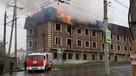 В Ростове-на-Дону на Северном во время пожара обрушилась крыша многоэтажного дома