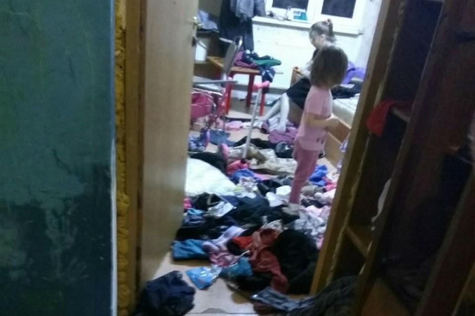 Дети живут в полной антисанитарии. Фото: соцсети.