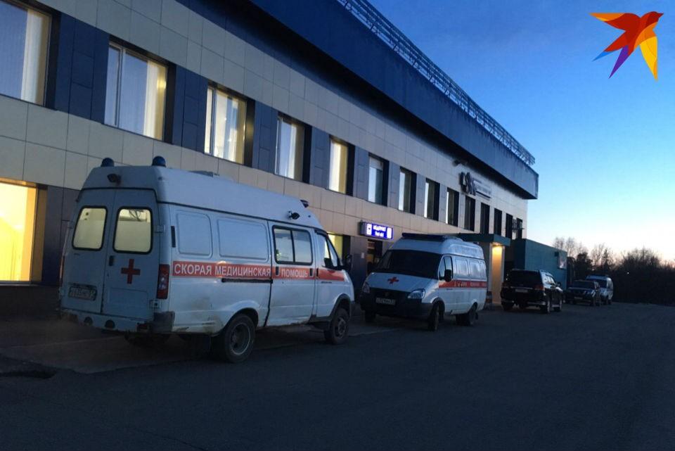 """В аэропорту """"Мурманск"""" развернут оперативный штаб."""