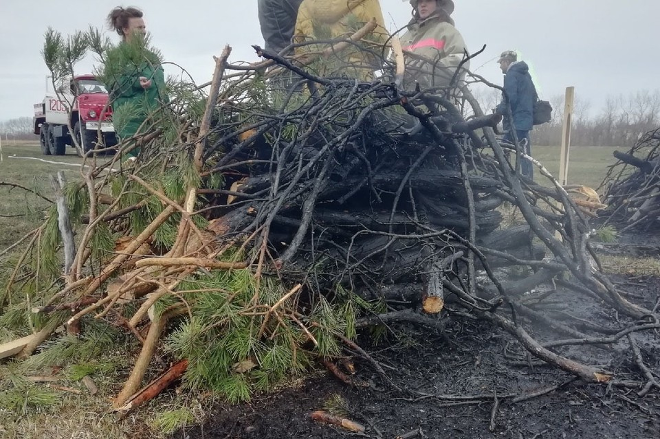 Более 400 пожаров за два дня произошло в Алтайском крае