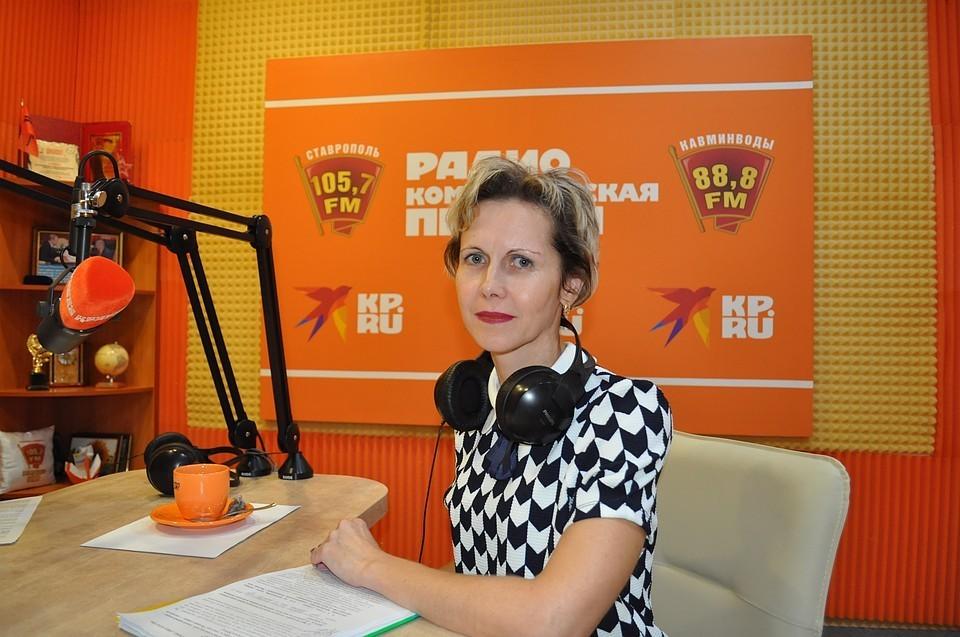 Первый заместитель министра образования Ставропольского края Наталья Александровна Лаврова