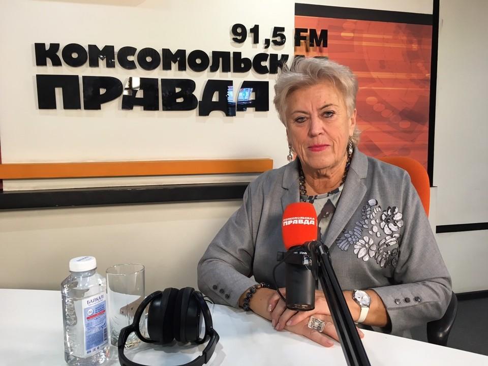"""""""Тема дня"""" на радио """"Комсомольская правда"""", Всемирный день без табака."""