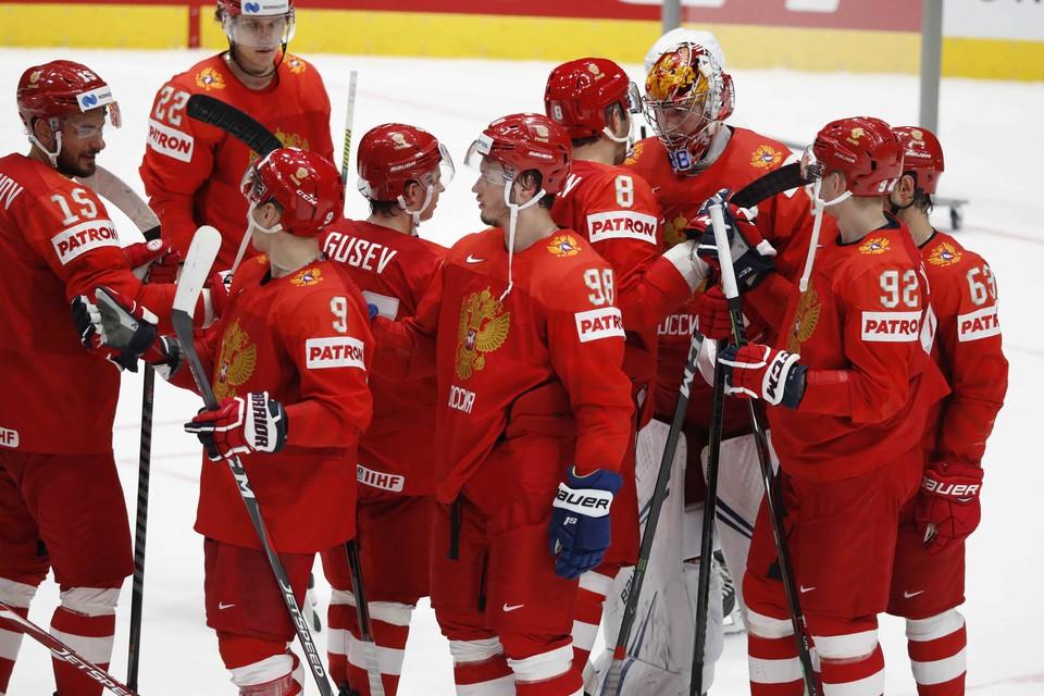 Россия сыграет против Латвии.