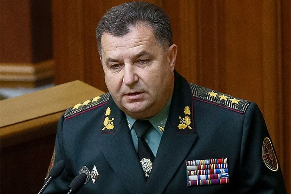 Министр обороны Украины Степан Полторак
