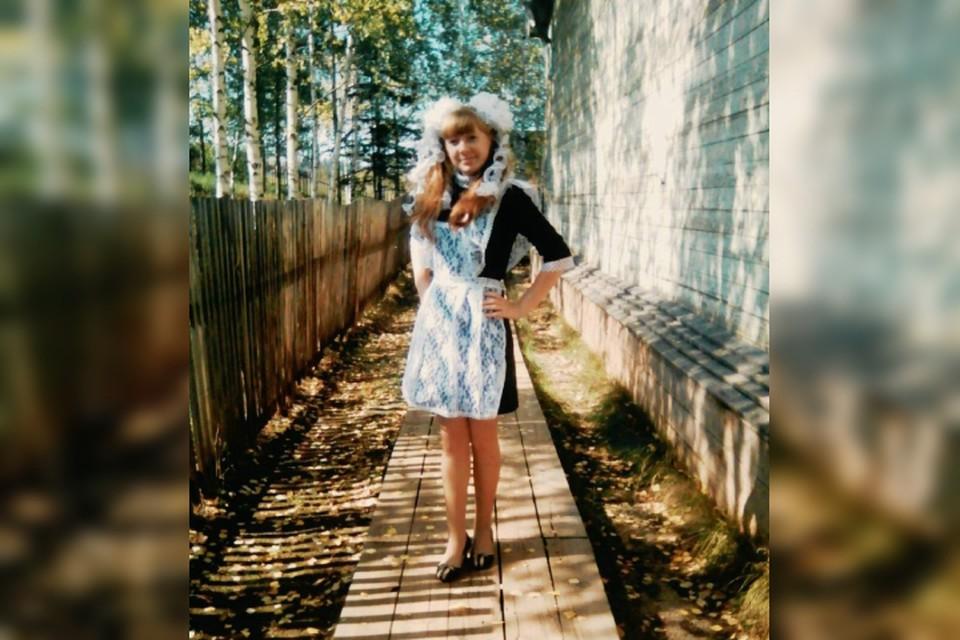 Без одноклассников, но не без праздника: 11-классница из сибирской глубинки в одиночку отмечает последний звонокФото: Семейный архив Апаликовых.