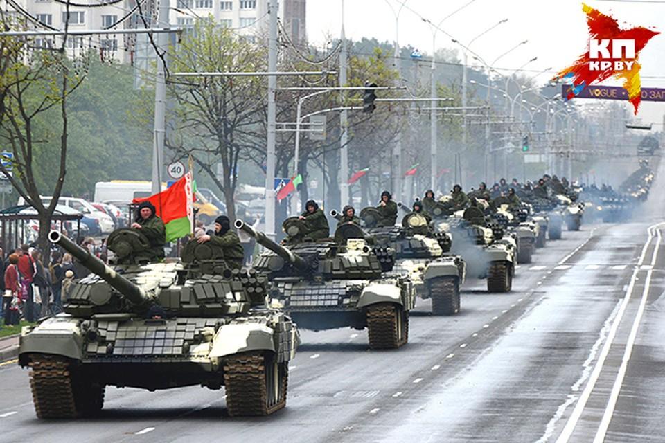 Минск готовят к параду - сегодня вечером перекроют движение