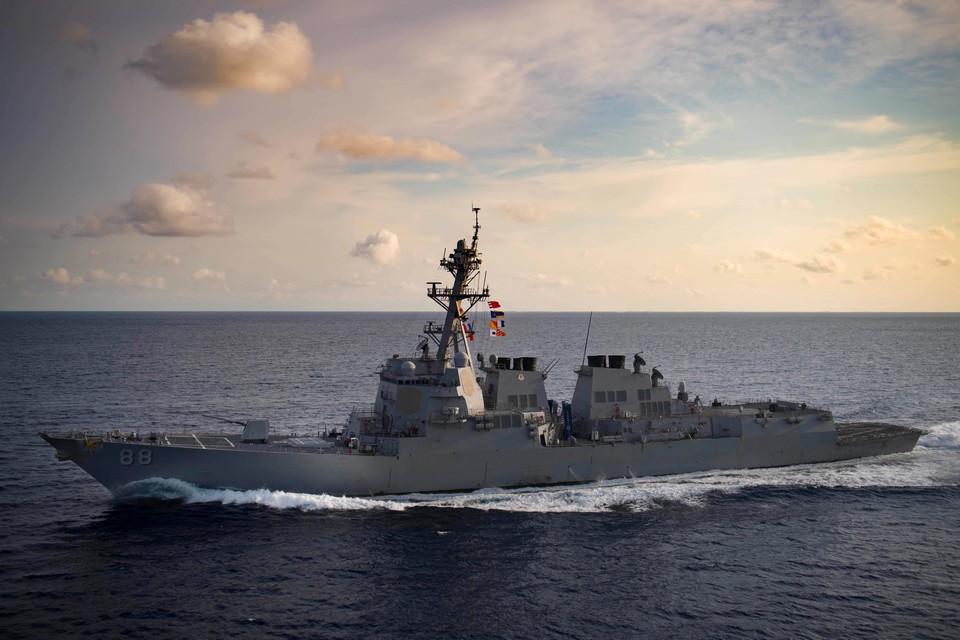 Ракетный эсминец США Preble