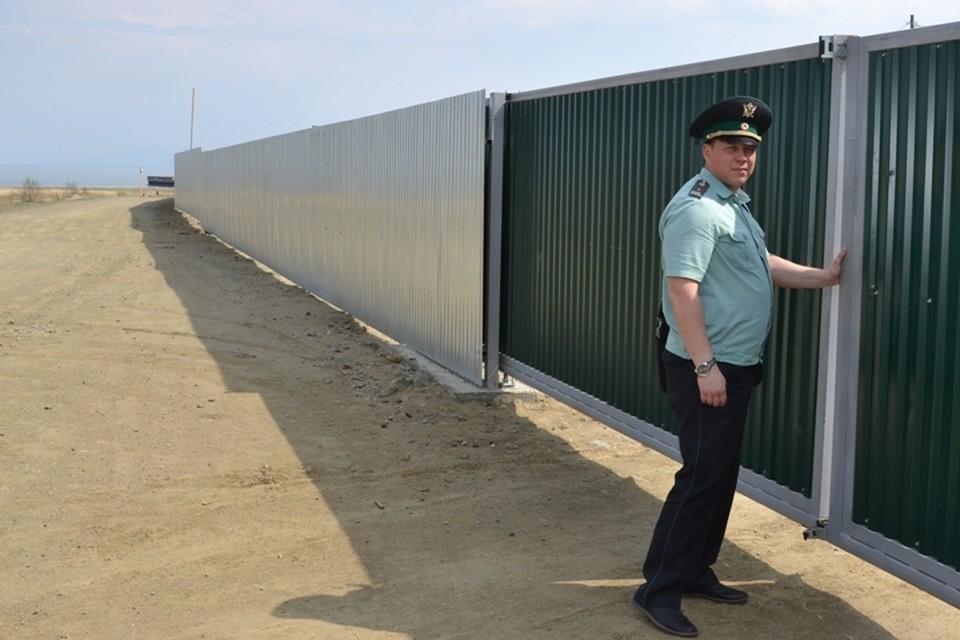 Судебные приставы подтвердили остановку строительства китайского завода по розливу воды на Байкале. Фото: пресс-служба УФССП России по Иркутской области.