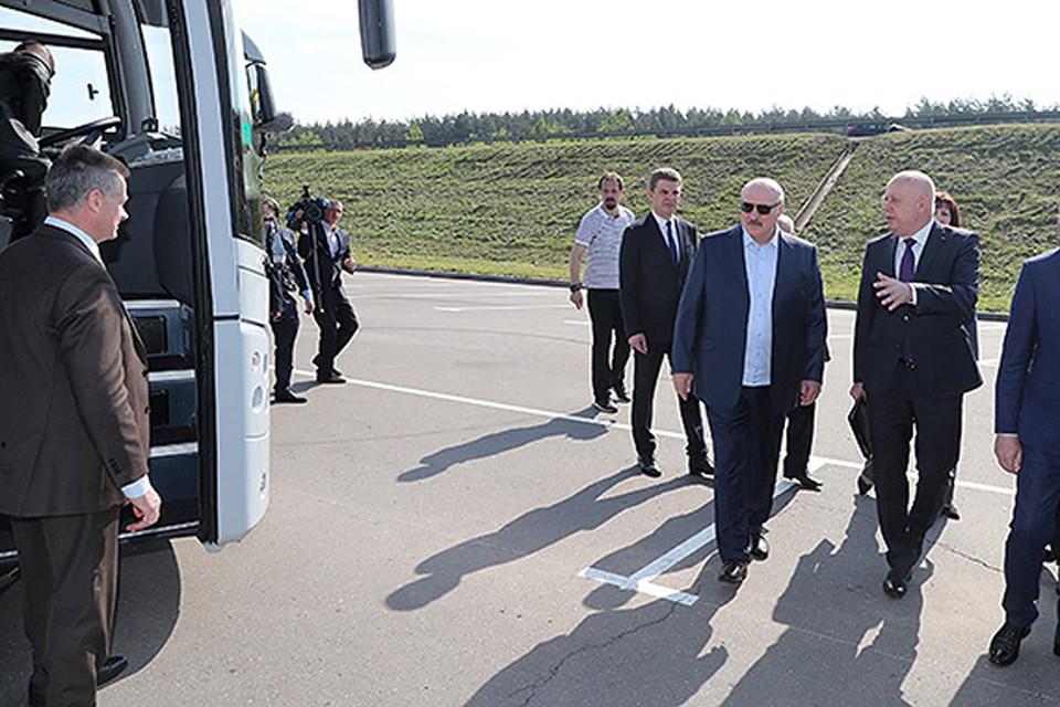 Лукашенко в Куропатах: «Надо посадить деревья. Те кто там лежит – спасибо скажут». Фото: пресс-служба президента.