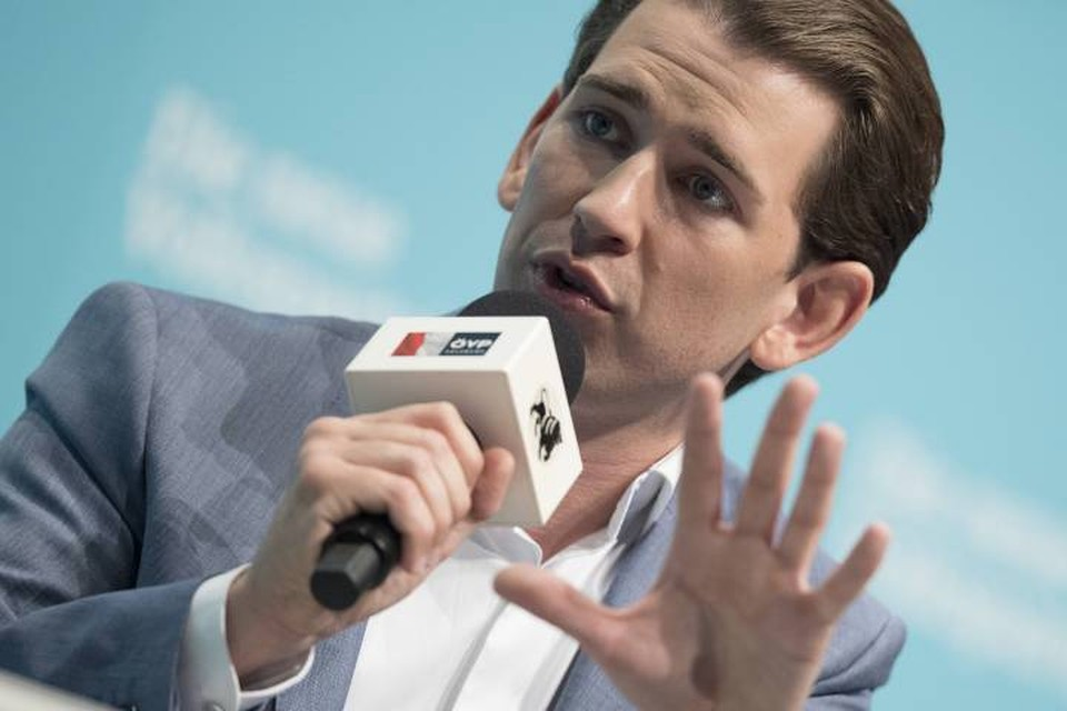 Себастьян Курц в 2017 году ставший самым молодым канцлером в истории Австрии
