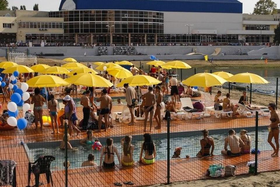 В начале июня в Краснодаре заработает единственный городской пляж. Фото: администрация Краснодара