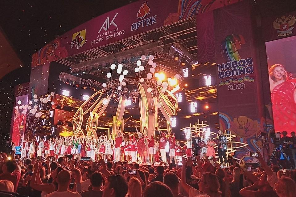 В Артеке два дня проходил конкурс юных талантов.