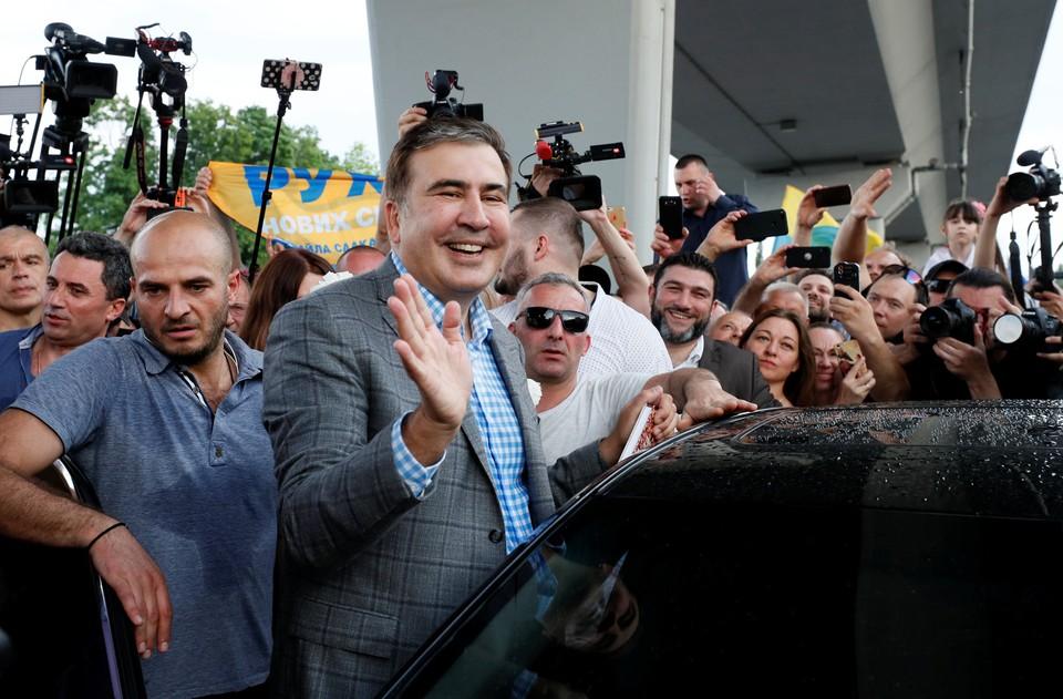 Михаил Саакашвили вернулся в Киев