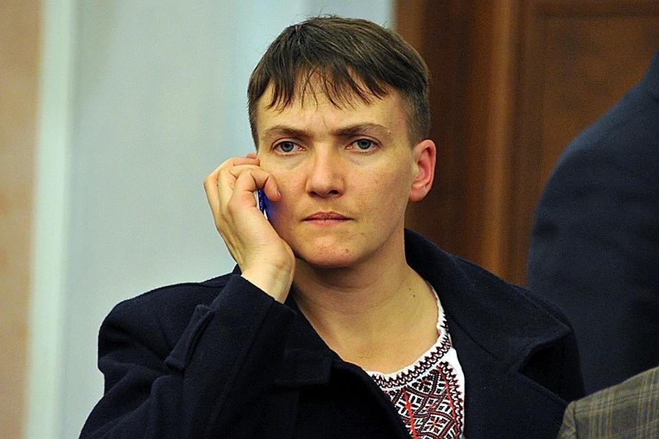 Депутат Верховной рады Надежда Савченко