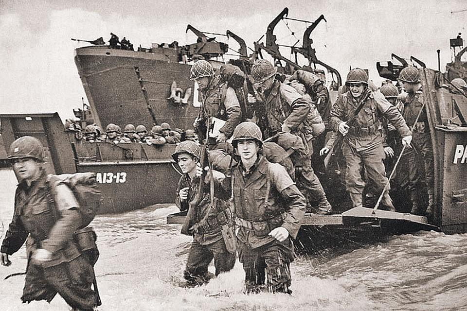 Высадка американцев на пляже «Юта» в Нормандии в июне 44-го была не такой драматической, как в «Спасти рядового Райана». Фото: The Granger Collection/ТАСС