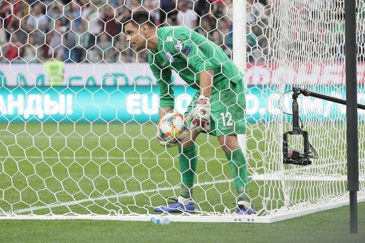 Долгожданный гол в воротах сборной Кипра!
