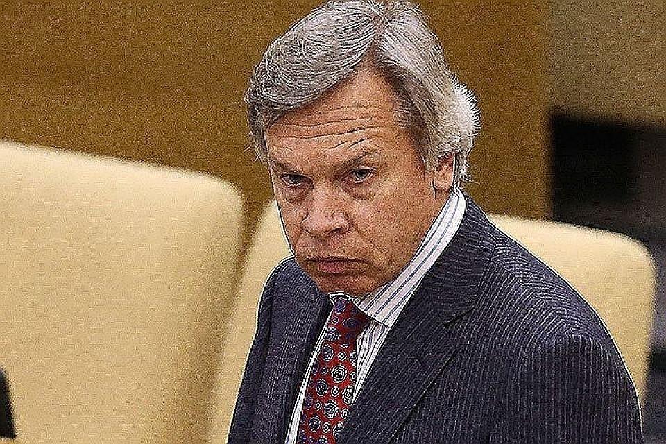 Председатель комиссии Совета Федерации по информационной политике Алексей Пушков. Фото: Артем Коротев/ТАСС